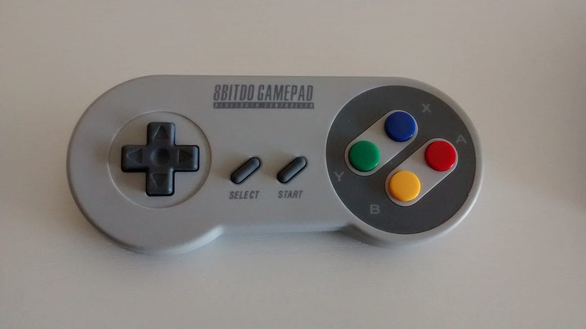 Mash it Like it's 1992! With the 8bitdo SFC30 Gamepad
